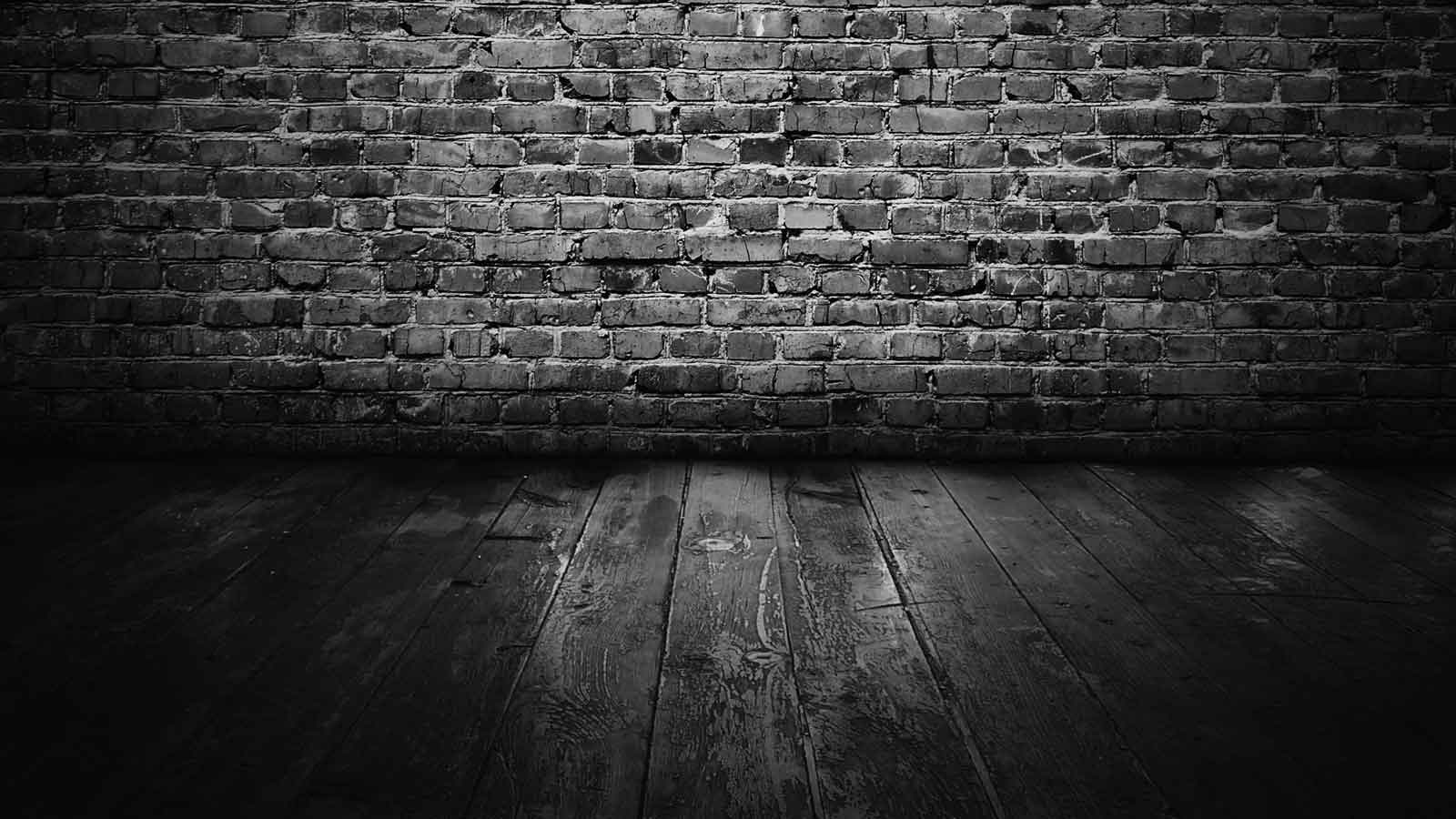 gallery for black and white brick wallpaper