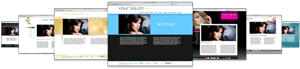 Salon Factor Website Designs
