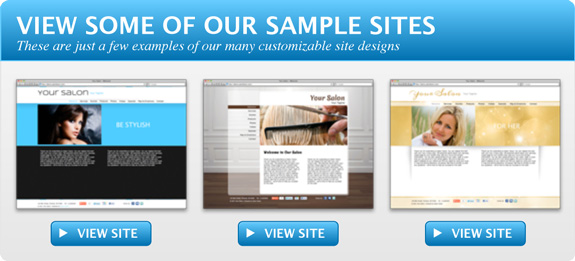 Salon Factor Site Designs